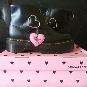 Dr. Martens x Lazy Oaf Lo Buckle Boot Black